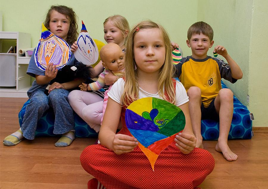 Pressefoto Vorschulkinder