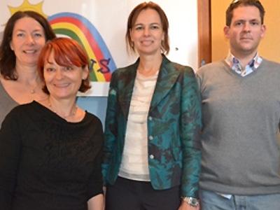 Besuch von Ministerin Karmasin bei Rainbows